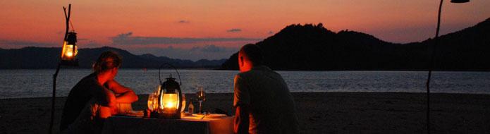Private island BBQs
